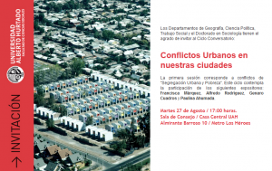 Conflictos Urbanos en nuestras ciudades