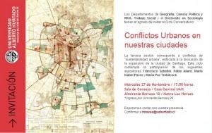 Conflictos Urbanos en...