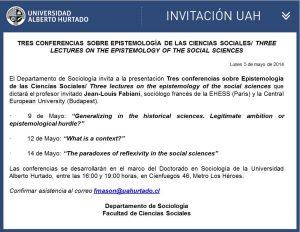 Tres Conferencias sobre Epistemología..
