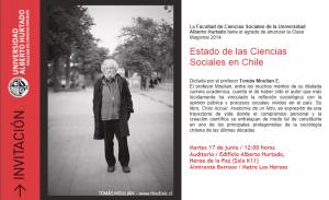 Estado de las Ciencias Sociales...