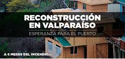 Reconstrucción en Valparaíso...