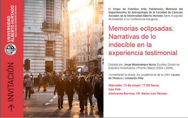 Conferencia inagural_Memorias eclipsadas....