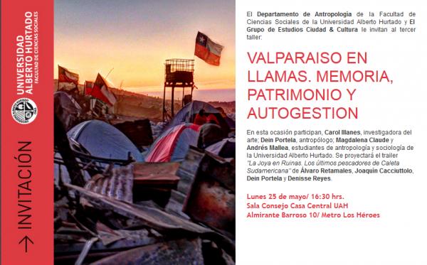 Valparaíso en llamas