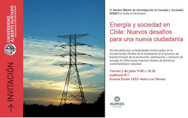 Seminario Energía y sociedad