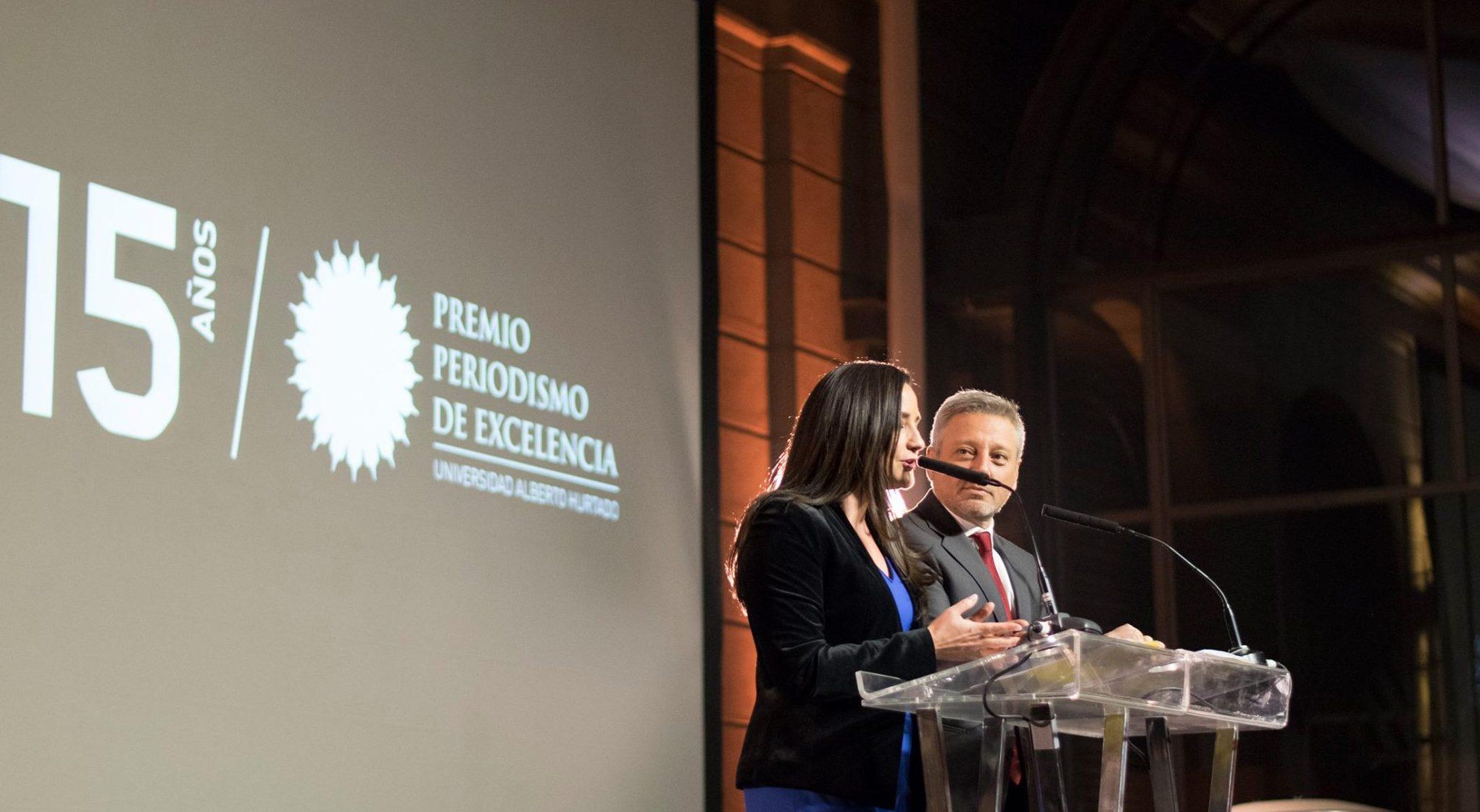 Ganadores del Premio Periodismo de Excelencia 2018