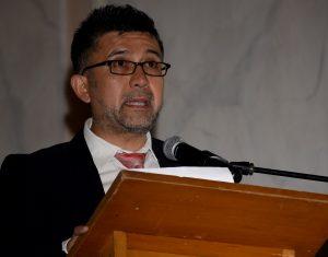 Discurso de Claudio Marín, Doctor en Filosofía