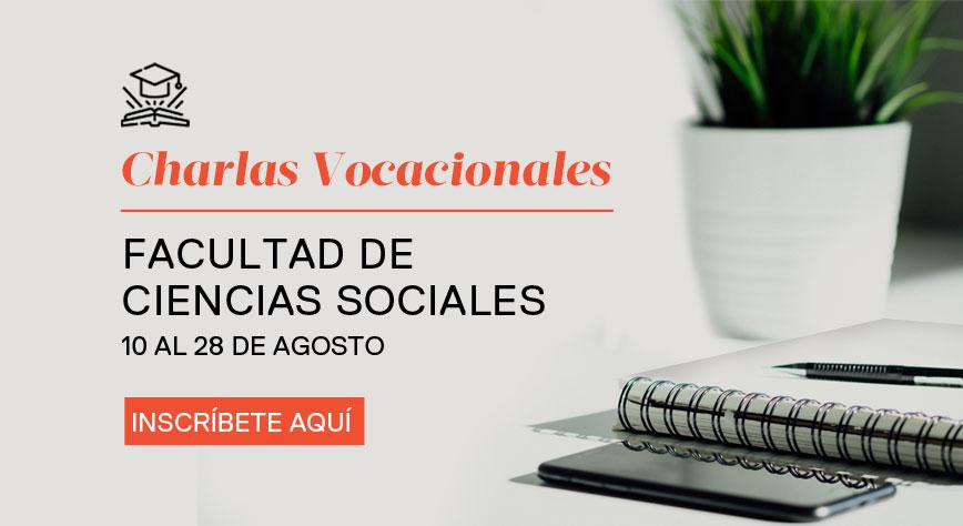 Charlas vocacionales Facultad Ciencias Sociales