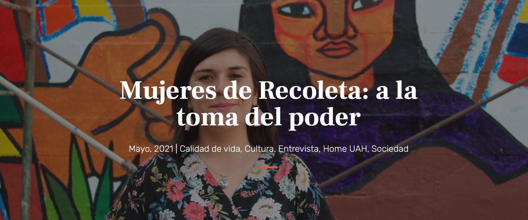 ENTREVISTA | Estudiantes de Magíster investigaron la real incidencia política femenina en la comuna de Recoleta