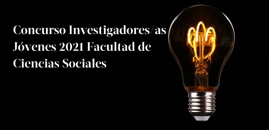 Convocatoria Concurso de Investigadores/as Jóvenes 2021