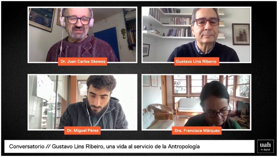 Magíster en Antropologías Latinoamericanas rinde homenaje a Gustavo Lins Ribeiro, destacado antropólogo social