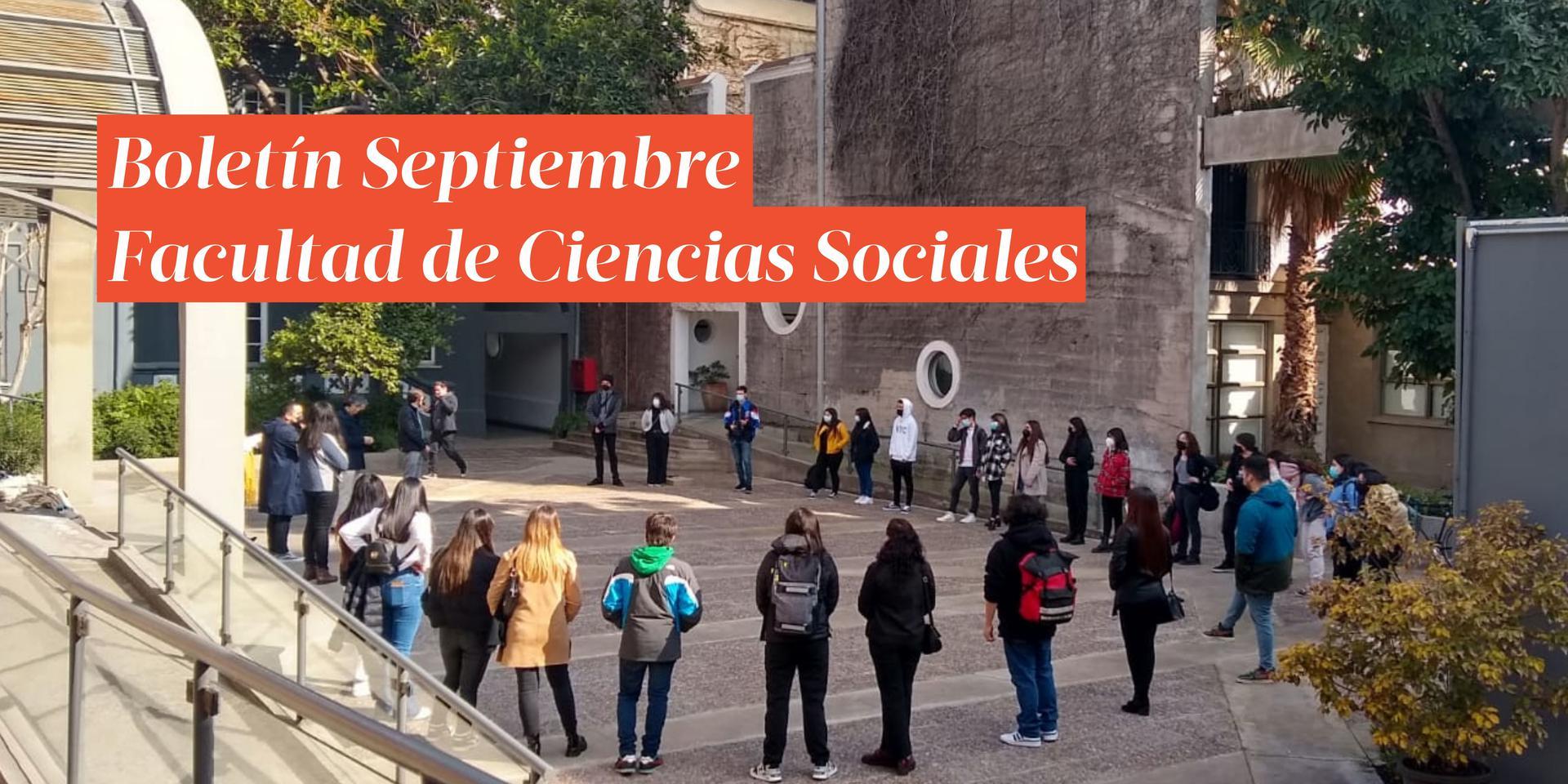 Boletín informativo Septiembre | Facultad de Ciencias Sociales
