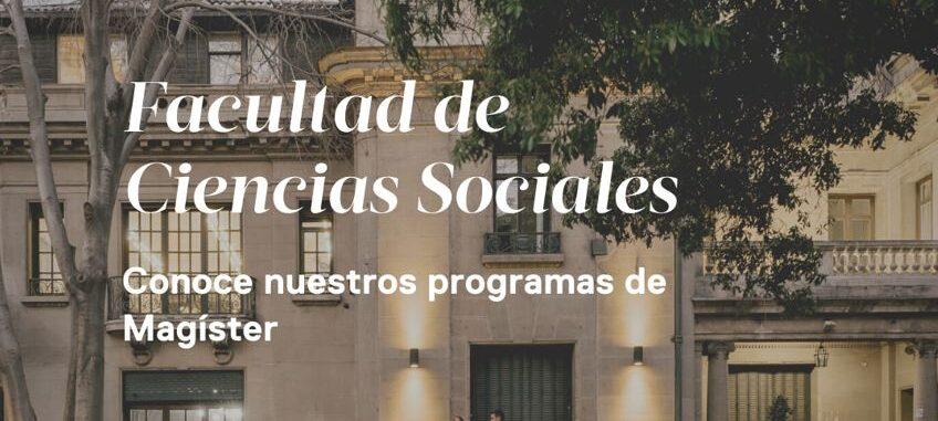 Postulaciones abiertas   Admisión 2022   Postgrados Facultad de Ciencias Sociales UAH